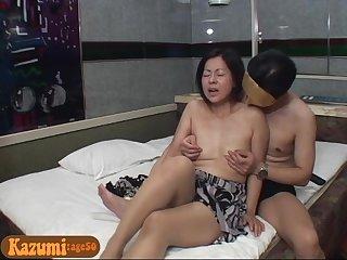50 years old asian mom Kazumi
