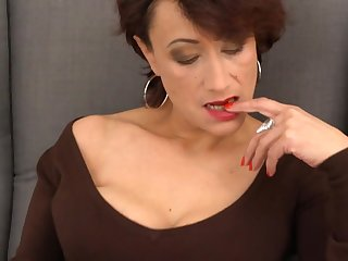 Incomparable mature mom with prudish old cunt