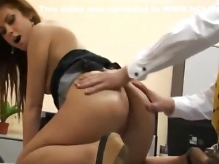 Sexy German Secretary Gets Anal Fucked by Her Advanced Kingpin