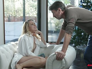 Captivating temptress Lilly Lit is eager for hard dick which belongs to will not hear of stepdad