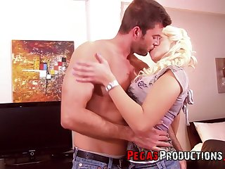 Ample breasted whore Candy Diamond gets their way anus banged and takes cum on their way boobs