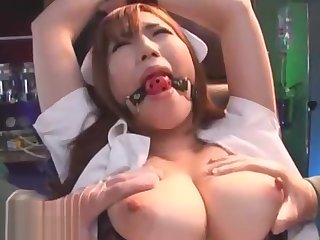 Japanese nurse bondage sex with huge squirt