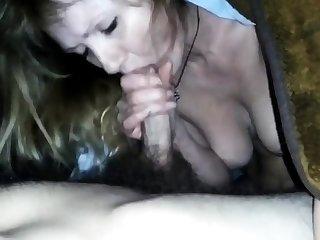 Fuck Russian mature mom at home