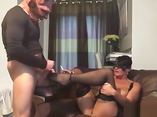Fred cums & fucks betsy