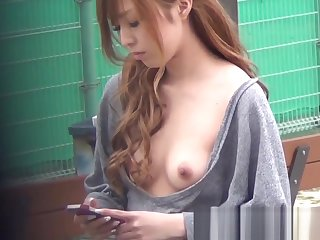 Classy Japan babes titty teasing all about the bishopric