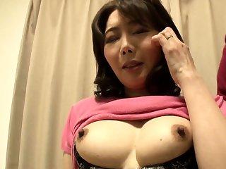 Dispirited Japanese milf fucking hardcore
