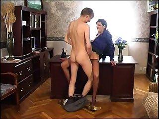 Full-grown Russian Stockings SM65