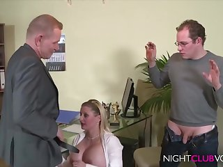 German Office Triplet Orgy After Work Hd Video - cock sucking