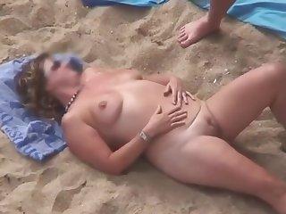 Full-grown Beach Skit