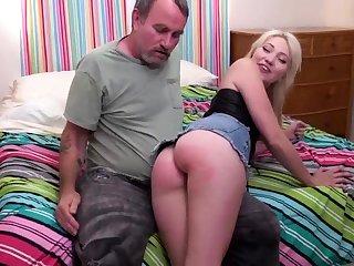 Pleasurable Old Teenage Ass Spanking