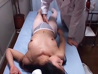 Japanese Voyeur Footage of Clumsy Nurses Making up be useful take Their Mistakes take a Dominant Doctor 2 [upload king]
