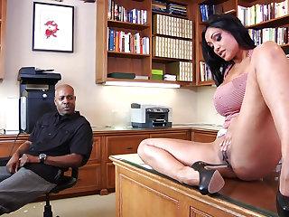 Amazing MILF Priya Rai interracial hardcore porn