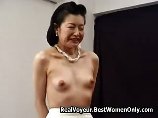 Petite Asian Japanese Granny Fucked Everywhere Toys 6