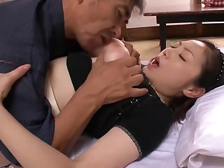 Gaffer Japanese Mature fucks 2 often proles