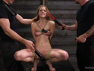 Samantha Hayes loves everything round strong orgasm and BDSM