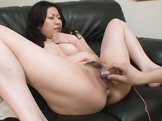 Young Asian has a scrupulous pussy for him