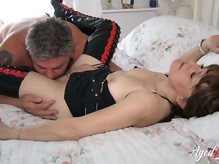 AgedLovE Sensual Session with Lusty Mature Lady