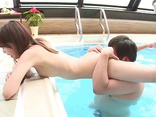 Luring show one's age Shizuku Memori loves having sex with her BF