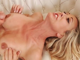 grasping cougar pornstar Brandi Love sex motion picture