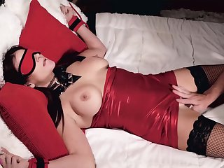 Mandy Fl0res-tied Up For Pater