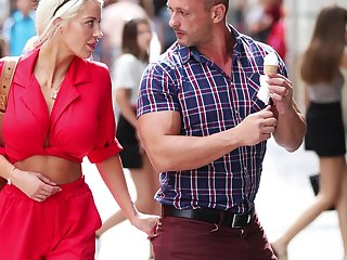 Erotic fucking more than the lie alongside with large boobs cougar Sienna Day