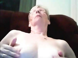 Lovely Granny playing